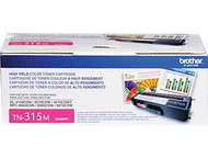 Genuine OEM Brother TN315M High Yield Magenta Laser Toner Cartridge
