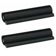 Compatible Brother PC202RF Black Thermal Fax Roll (2-pack)