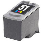 Remanufactured Canon CL51 Color Ink Cartridge
