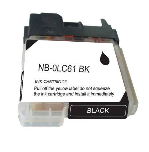 Compatible Brother LC61BK inkjet cartridges are made to meet the same ISO-9001 specifications and performance standards as the factory brand at a discount price!