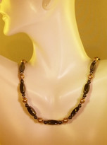 Bronze Pearl Necklace (Ladies)