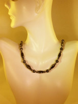 Snowflake Obsidian Necklace (Ladies)