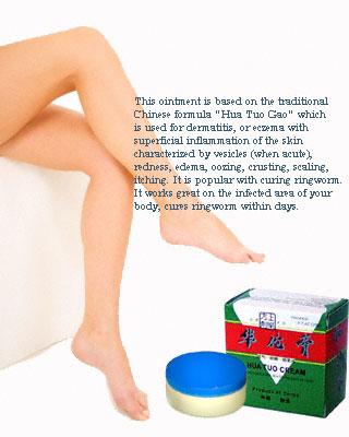Hua Tuo Cream for Skin Disorders