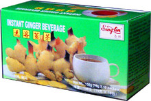 instant ginger beverage