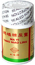 ma yi capsules for treating diabetes