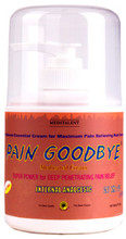 pain goodbye cream jar