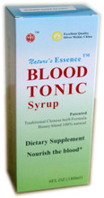 blood tonic syrup box
