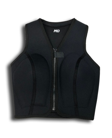 Dolphin Wetsuits Flo-Mo W/Shape Front View - Black