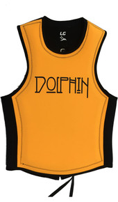 Front view of Cross Vest Back Zip