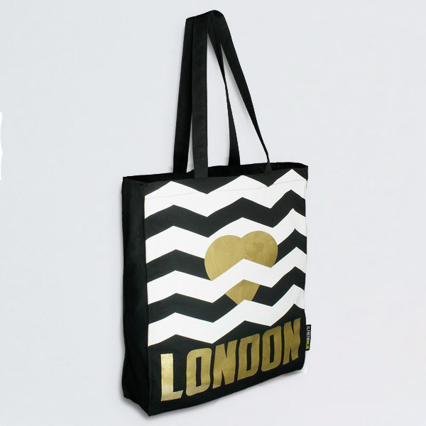 Heart London Tote Bag