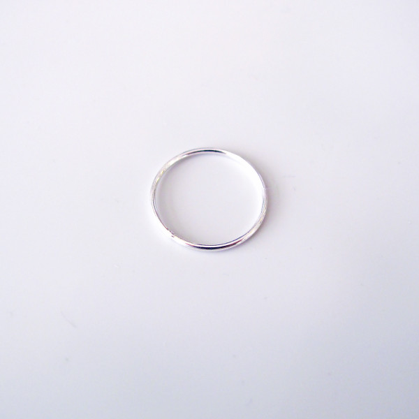 Stacks Ring silver by Custom Made available at Of Cabbages and Kings.