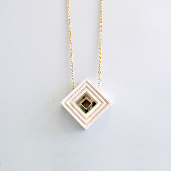 Diamond Necklace by Wolf and Moon at Of Cabbages and Kings