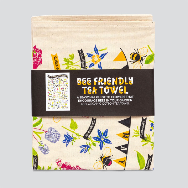 The Bee Friendly Tea Towel
