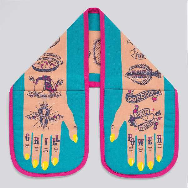 Grill Power Double Oven Glove by Stuart Gardiner at Of Cabbages and Kings