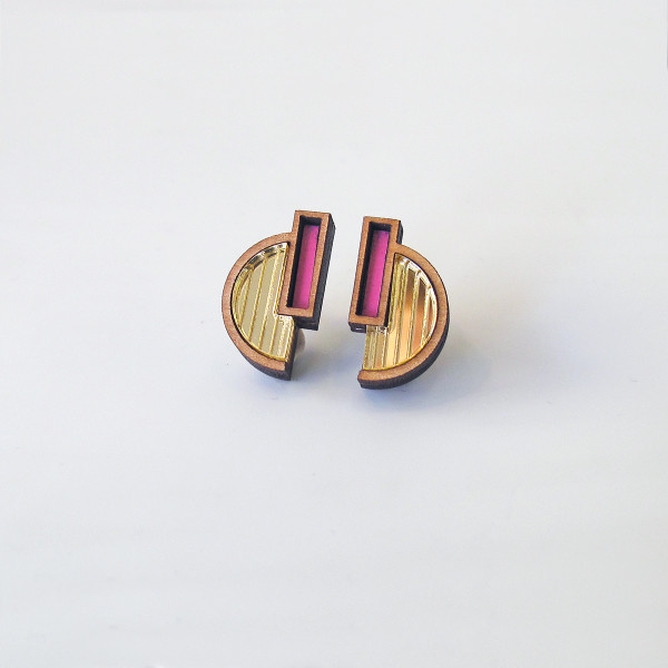 Solana Stud Earrings by Chalk at of cabbages and kings