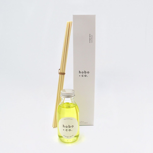Orange Spice Reed Diffuser by Hobo + Co at Of Cabbages and Kings