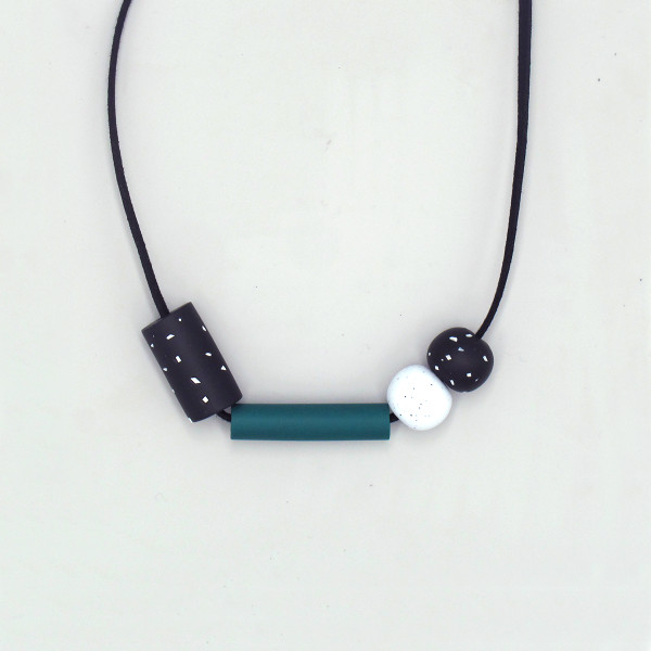 Lucky Marble Necklace by Soda Bay at of cabbages and kings