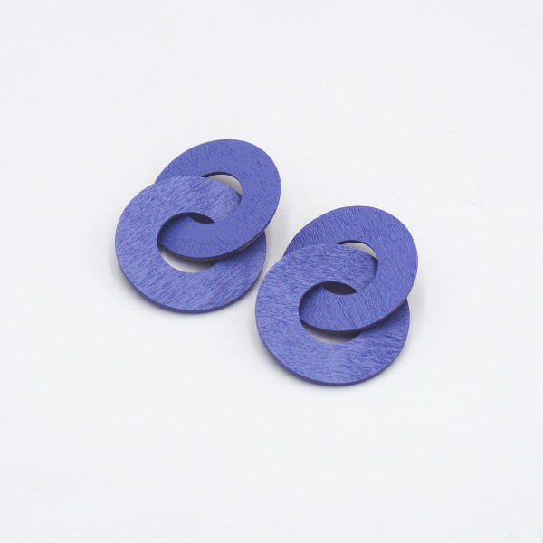 Cleo Earrings by Wolf & Moon at Of Cabbages and Kings