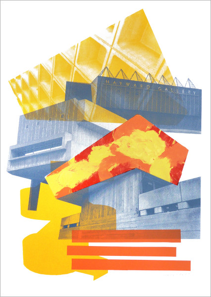Concrete Hayward print by Underway Studio at Of Cabbages and Kings