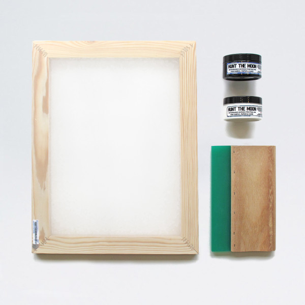A4 Screen Printing Kit by Of Cabbages & Kings
