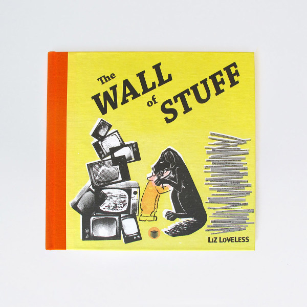 The Wall Of Stuff Book front cover by Factory Press and Of Cabbages and Kings