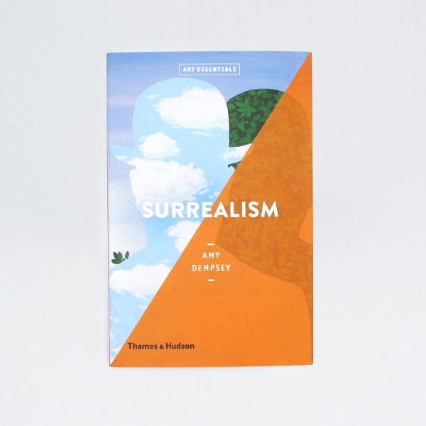 Surrealism Art Essentials Book Cover by Thames and Hudson at Of Cabbages and Kings