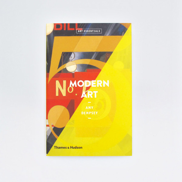 Modern Art - Art Essentials Book Cover by Thames and Hudson at Of Cabbages and Kings