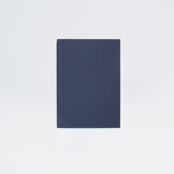 A6 Plain Layflat Notebook - Navy by Ola at Of Cabbages and Kings