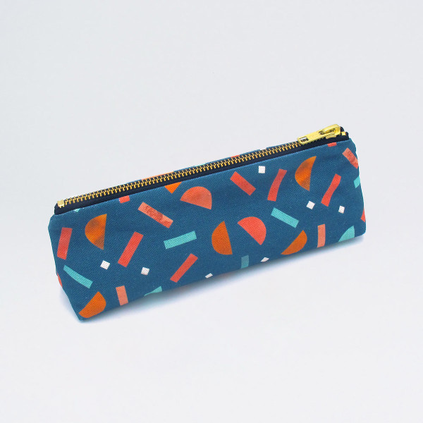 Fiesta Pencil Case by Letter + Brush at Of Cabbages and Kings