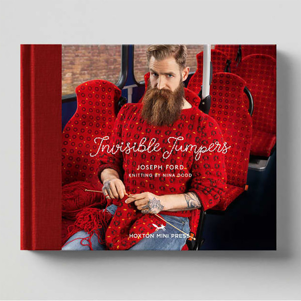 Invisible Jumpers by Joseph Ford and Nina Dodd Cover by Hoxton Mini Press at Of Cabbages and Kings