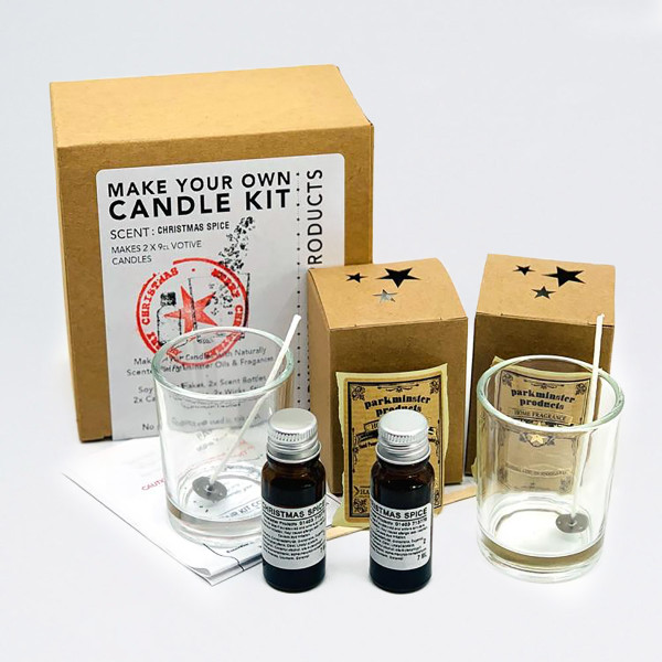 Make Your Own Candle Kit - Christmas Spice by Parkmister Products at Of Cabbages and Kings