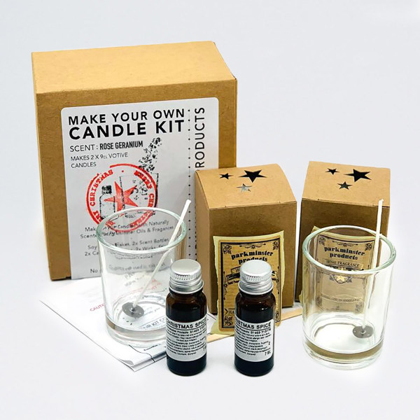 Make Your Own Candle Kit - Rose Geranium by Parkmister Products at Of Cabbages and Kings