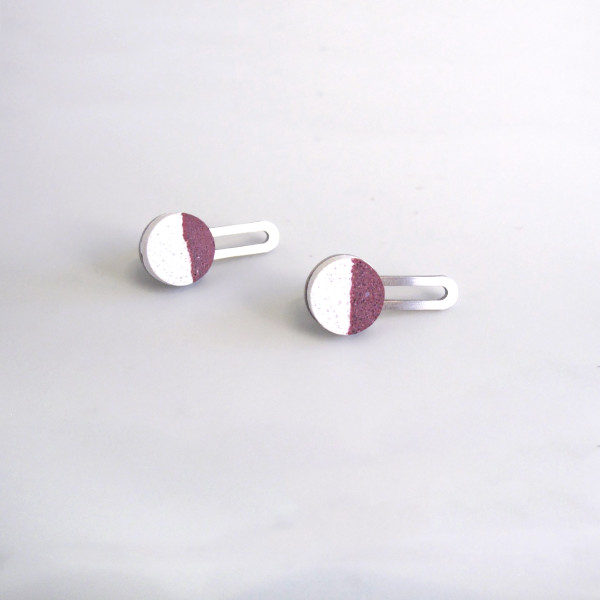 Mori Steel Earrings by Promises Promises at Of Cabbages and Kings