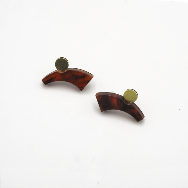 Zola II Earrings from Chalk House Jewellery at Of Cabbages and Kings