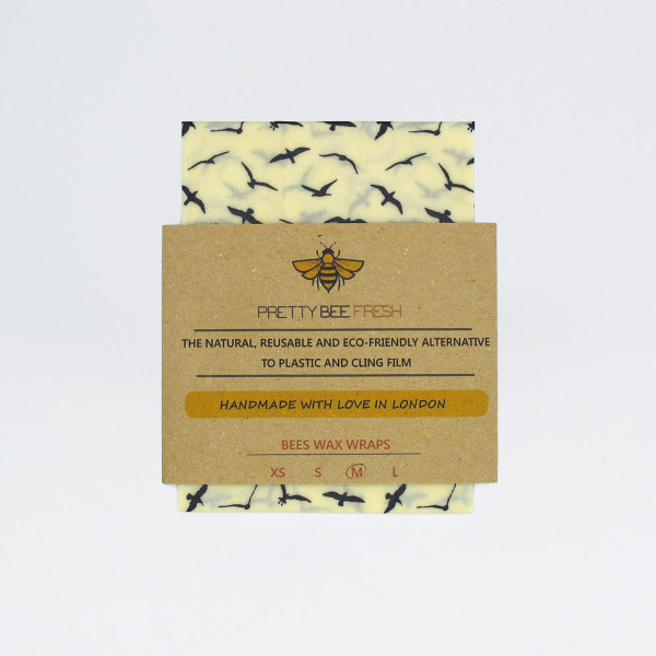 Beeswax Wrap - Seagull Print by Pretty Bee Fresh at Of Cabbages and Kings