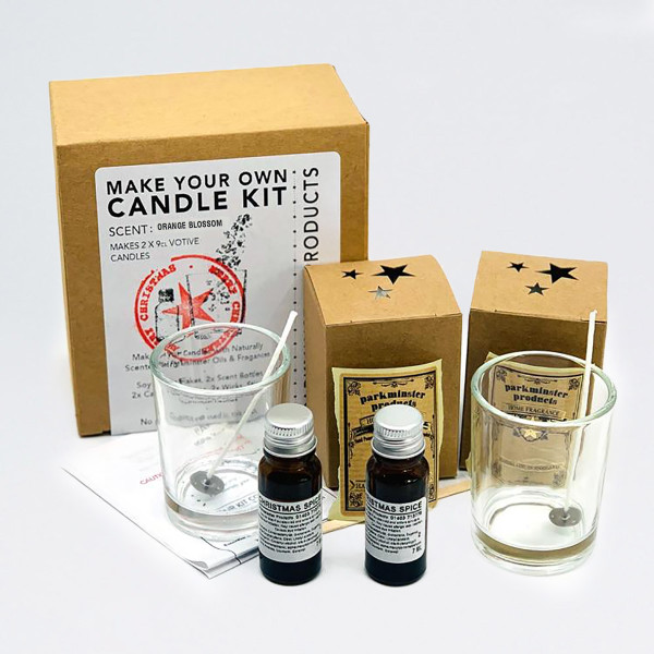 Make Your Own Candle Kit - Orange Blossom by Parkmister Products at Of Cabbages and Kings