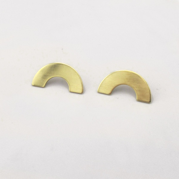 Curve XL Earrings by Custom Made at Of Cabbages and Kings