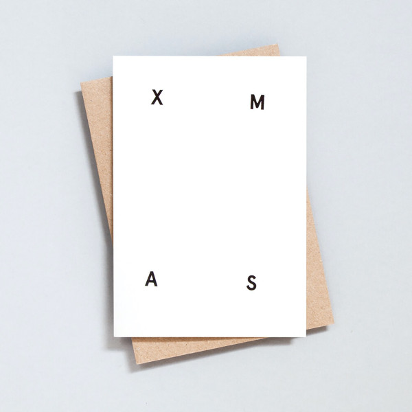 Single Xmas Christmas Card by Ola at Of Cabbages and Kings
