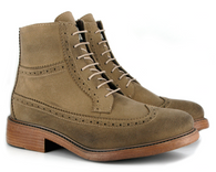 Vegetarian Shoes Ralph vegan brogued boot
