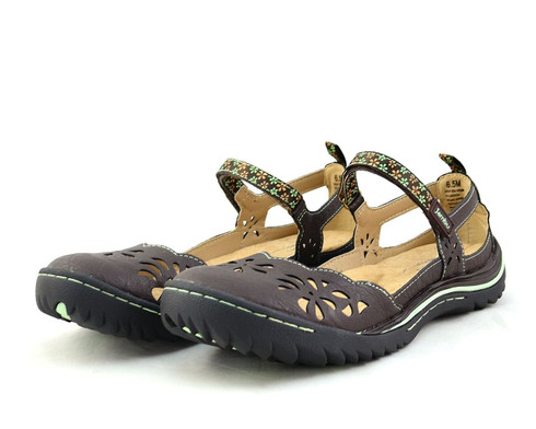 Jambu Deep Sea vegan sandal Mary Jane