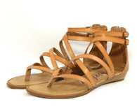 Blowfish Bungalow vegan mini-wedge gladiator sandal
