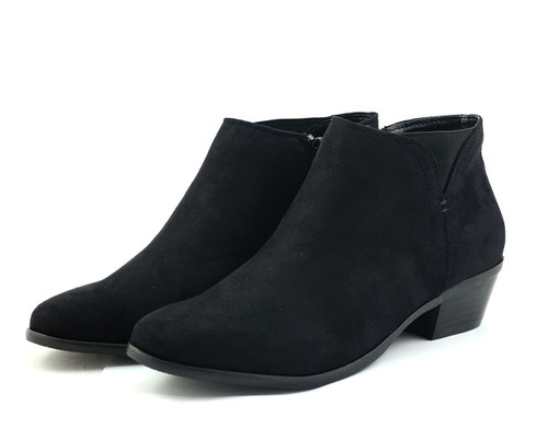 Madeline Track Down 2 vegan ankle bootie