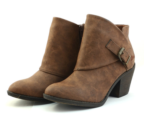 Blowfish Suba vegan heeled bootie