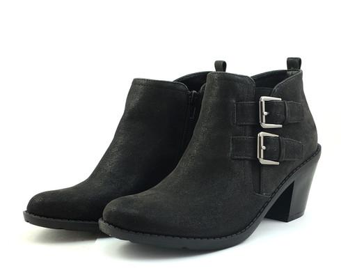 Madeline Stylish vegan heeled ankle bootie