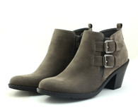 Madeline Stylish vegan heeled ankle bootie