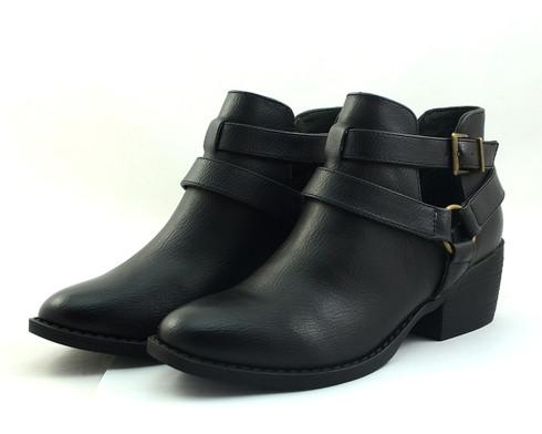 BC Footwear Communal vegan heeled ankle boot
