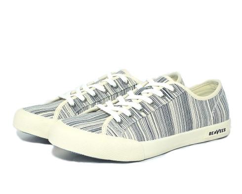 Seavees Monterey Oasis vegan vulcanized denim sneaker