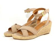 Madeline Strum vegan espadrille heeled sandal