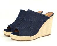 Madeline Mix vegan espadrille heeled sandal