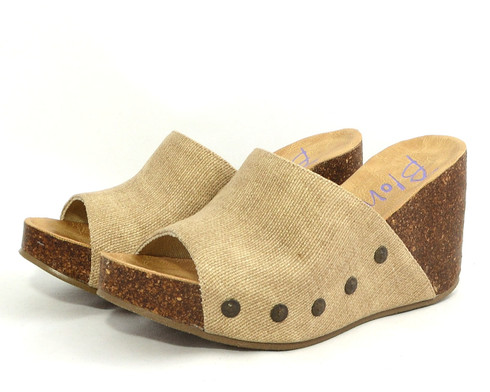 Blowfish Host vegan wedge sandal